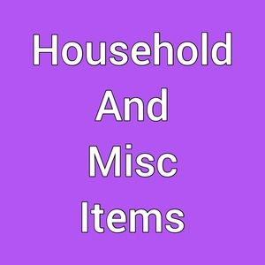 Household and misc